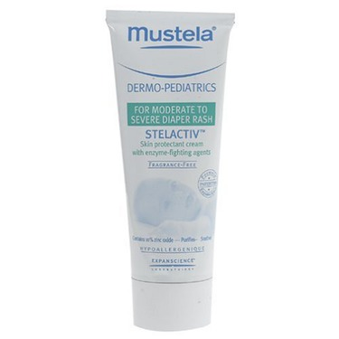 Mustela Dermo-Pediatrics, Stelactiv Diaper Rash Cream 2.9 fl oz (200 ml)
