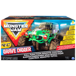 Monster Jam Official Grave Digger Remote Control Truck