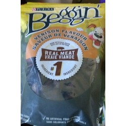 Purina beggin venison flavour dog snacks