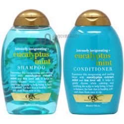 OGX Eucalyptus Mint Shampoo and Conditioner