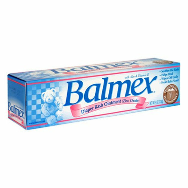 Balmex Diaper Rash Cream with Aloe & Vitamin E, 4 oz