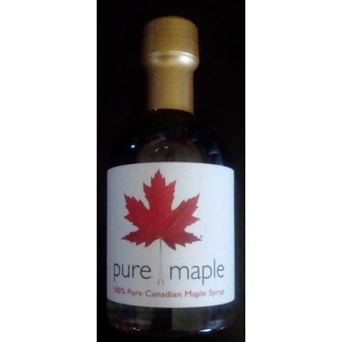 Canadian 100% Pure Mapler's Syrup