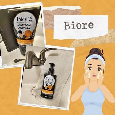 Bioré Charcoal Anti-Blemish Cleanser