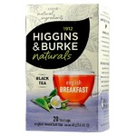 higgins & burke organics english breakfast tea