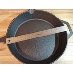 Cuisinel Pre-Seasoned Cast Iron Skillet (12-Inch) W/Tempered Glass Lid
