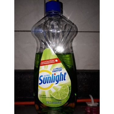 Sunlight dish liquid lime mint