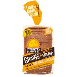Country Harvest Grains + Energy Sunflower, Flax & Hemp Loaf
