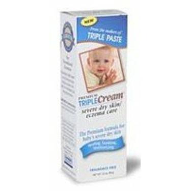 Triple Paste Triple Cream, Severe Dry Skin/Eczema Care 3.5 oz (99 g)