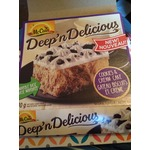 McCain Deep 'n Delicious cookies &cream;cake