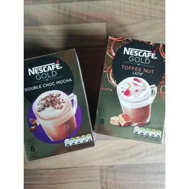 Nescafe gold toffee nut latte