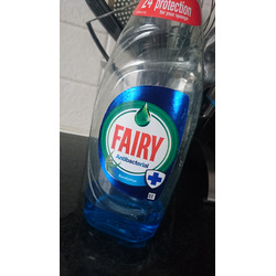 Fairy washing liquid