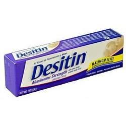 Desitin Maximum Strength Diaper Rash Paste (box of 6)