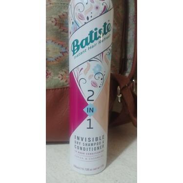 Batiste 2 In 1 Invisible Dry Shampoo & Conditioner Cocoa & Cashmere
