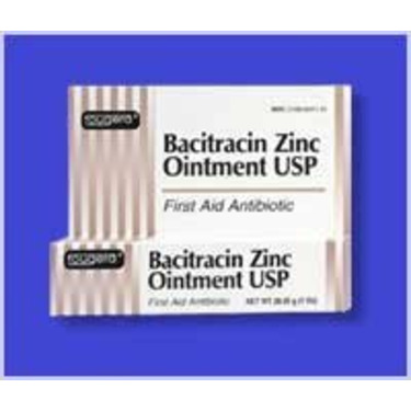 Bacitracin Zinc First aid Antibiotic Ointment, USP - 4 Oz