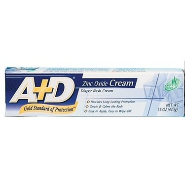 A+D Medicated Diaper Rash Cream With Aloe - 1.5 Oz