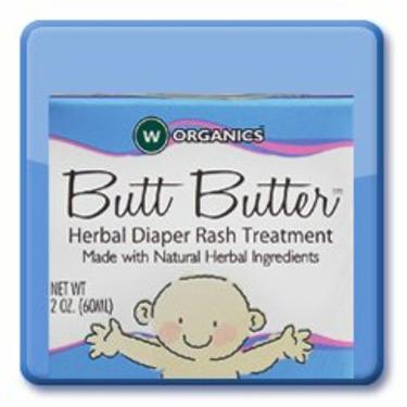 Wellements Butt Butter Herbal Diaper Rash Treatment For Kids - 2 Oz