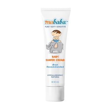 Mababa Baby Diaper Cream, 4-Ounce (Pack of 2)