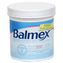 Balmex Diaper Rash Cream,  16 Ounce Jar (Pack of 2)