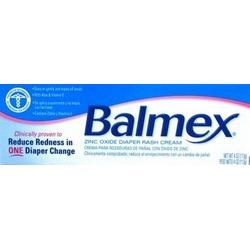 Balmex Zinc Oxide Diaper Rash Cream 4 oz. (Case of 6)