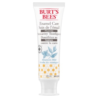 Burts Bees - Enamel Care Mountain Mint Toothpaste with Fluoride