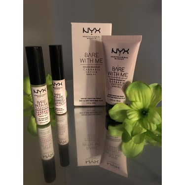 NYX Professional Makeup Bare With Me Cannabis Sativa Seed Oil Radiant Perfecting Primer