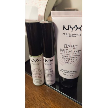NYX Professional Makeup Bare With Me Cannabis Sativa Seed Oil Lip Conditioner