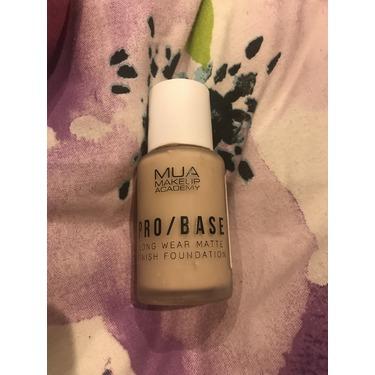 Makeup academy pro/base long wear matte finish foundation