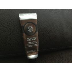 The Body Shop Coconut Oil Hand Cream
