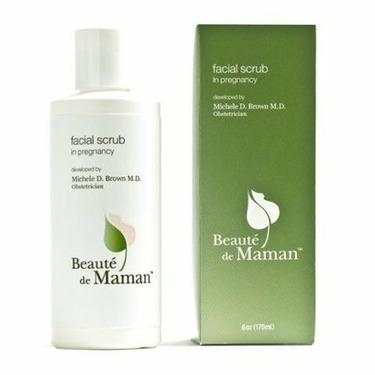 Beaute de Maman Facial Scrub, For Pregnancy 6 oz (170 ml)