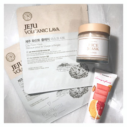 The Face Shop Volcanic Lava Clay Face Mask