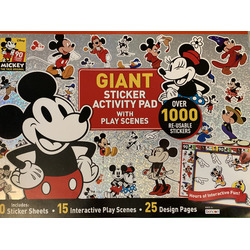 Giant sticker activity pad by Bendon