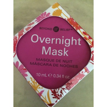 Beyond relief Overnight mask