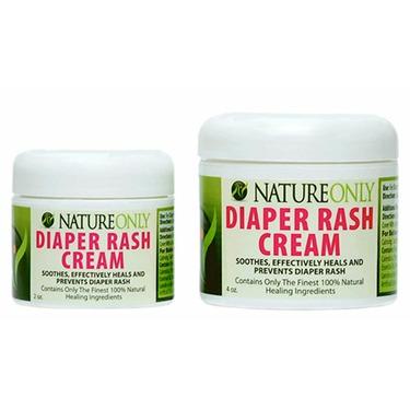 Nature Only 100% Natural Diaper Rash Cream 4 oz.