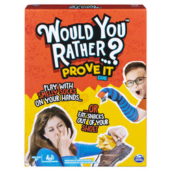Would You Rather…? Prove It Game