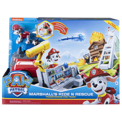 PAW Patrol Ride N Rescue 2-in-1 Transforming Playset