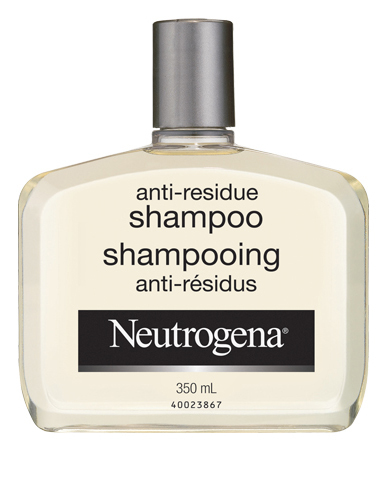 how to get rid of shampoo residue