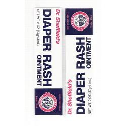 Dr. Sheffield's Diaper Rash Ointment 2oz (Pack of 2)