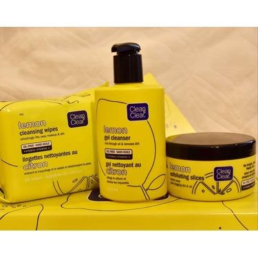 clean & clear lemon gel cleanser