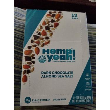 Manitoba Harvest Hemp Yeah! Dark Chocolate Almond Sea Salt Bar