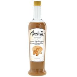 Amoretti Premium Creamy Syrups Crema di butterscotch
