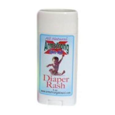 Armstrong Skin Aid All Natural Relief And Prevention Of Diaper Rash, 3-Ounce Packages