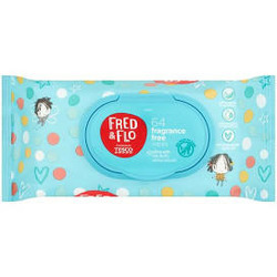 Tesco Fred & Flo fragrance free wipes