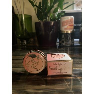 Too Faced Peach Lip Balm reviews in Lip Balms & Treatments ...