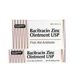 Bacitracin Zinc First Aid Antiboitic Ointment - 1/2 Oz