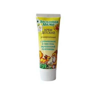 Cream for Children with Chamomile Oil and Wheat Germ 75 Ml