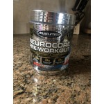 Muscletech preworkout icy rocket