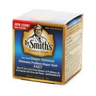 Dr. Smith's Premium Blend Diaper Ointment, 2 oz jar 2 oz (56.7 g)