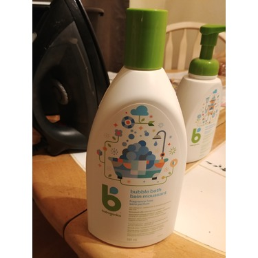 Babyganics Bubble Bath - Fragrance Free