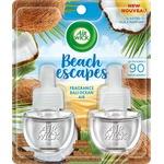 Air Wick Plug-in Air Freshener, Scented Oil Refills, Beach Escapes: Bali Ocean Air, 2 Refills