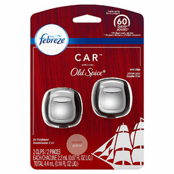 Febreze Car Air Freshener Vent Clips, Original Old Spice Scent